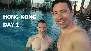 [GAY VLOG] 1st day in Hong-Kong / Hotel ICON
