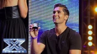 getlinkyoutube.com-David and Lauren's Near-Perfect Proposal - THE X FACTOR USA 2013
