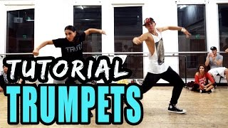 getlinkyoutube.com-TRUMPETS - Jason Derulo Dance TUTORIAL | @MattSteffanina Choreography (How To: Hip Hop)