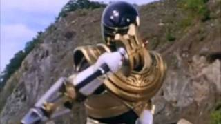 Power Rangers Zeo The Gold ranger appers