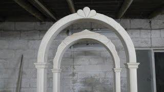 getlinkyoutube.com-Изготовление деревянной арки / Production of wooden arch