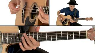 Joe Robinson Fingerstyle Guitar Lesson - Struttin' It Breakdown