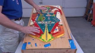 Pinball Machine Play Field Automotive Clear Coat Job