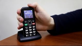 getlinkyoutube.com-Обзор мобильного телефона Vertex C303. Идеален для пожилых людей.