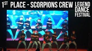 1st place - Scorpions Crew - Thane - Legend Dance Festival