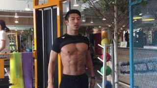 getlinkyoutube.com-이상대 트레이너 - 서서하는 복근 운동 ^^