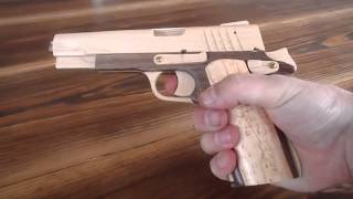 getlinkyoutube.com-M1911 Rubber Band Gun