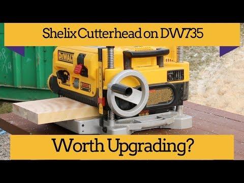 Adding Shelix Cutterhead to the DW735 Youtube Thumbnail
