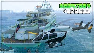 getlinkyoutube.com-GTA 5 DLC Online! Party Yacht Gameplay $50 Million DLC Spending Spree ! (GTA 5 Online DLC Gameplay)