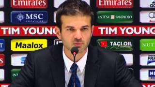 """Derby, Stramaccioni: """"Siamo noi ad essere stati penalizzati con il rosso a Nagatomo"""""""