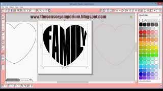 getlinkyoutube.com-Text to Heart Shape