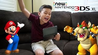getlinkyoutube.com-NEW NINTENDO 3DS XL!
