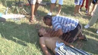 getlinkyoutube.com-Un copil din Vulcana Pandele s a inecat in barajul de la Doicesti
