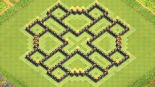 getlinkyoutube.com-Clash of Clans - Epic TH8 Farming Base