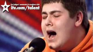 getlinkyoutube.com-Michael Collings  sings Tracy Chapman-Fast Car Britain's Got  talent 2011