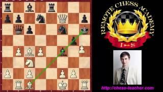 getlinkyoutube.com-Top three amazing chess sacrifices (by GM Igor Smirnov)