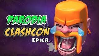 getlinkyoutube.com-PARODIA CLASHCON EPICA!! Risate ASSICURATE - Clash of Clans