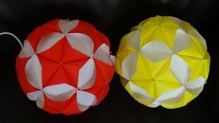getlinkyoutube.com-Part I : How to make paper star ball