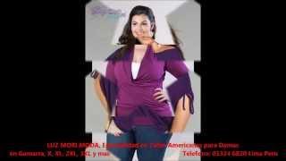 getlinkyoutube.com-LUZ MORI MODA, Especialidad en Tallas Americanas para Damas en Gamarra, X, XL, 2XL, 3XL y mas