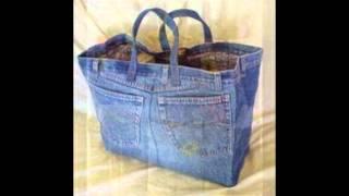 getlinkyoutube.com-إعادة استخدام الجينز  old jeans reuse ideas