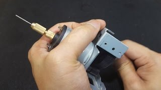 How to make Hand PCB Drill Easy