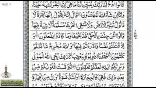 Juz 01   Mufti Ismail Menk and Hafez Faizur Rahman width=