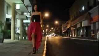 getlinkyoutube.com-كيفية تفصيل فستان انيق بطبقات التل