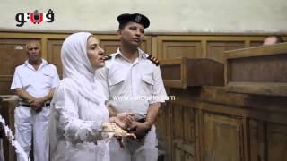 getlinkyoutube.com-ياسمين النرش تعرض دفاعها أمام قاضي «واقعة المطار»