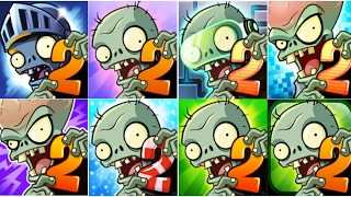 getlinkyoutube.com-Plants vs Zombies 2: New Extended Modern Day 40 New Zombies! (PvZ 2)