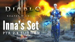getlinkyoutube.com-Diablo 3: New Monk Set Inna's PTR Patch 2 4 Mystic Ally Build