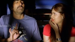getlinkyoutube.com-Love & Romantic Dialogues - Neninthe Movie scenes - Raviteja, Siya