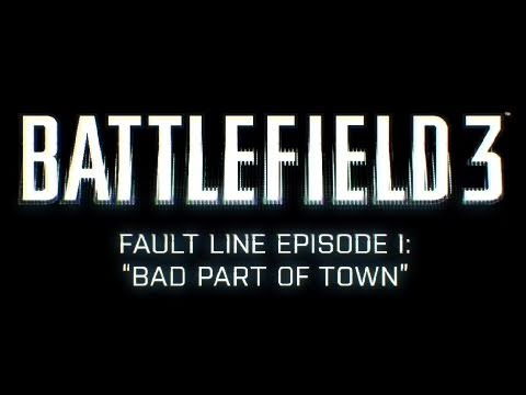 Battlefield 3 - Fault Line Episode 1 Gameplay Preview (2011) BF3 | FULL-HD