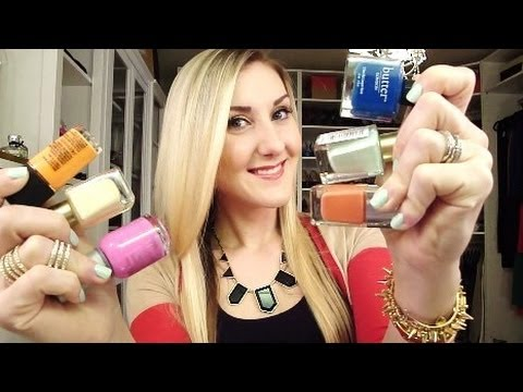 My Spring Nail Polish Must-Haves & OOTD