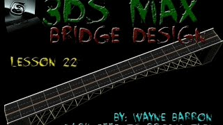 getlinkyoutube.com-3ds Max Lesson #22 - Modeling A Bridge