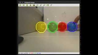 getlinkyoutube.com-Multiple Object Detection with Color Using OpenCV