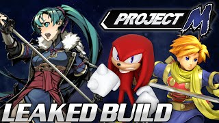 Project M: Leaked Development Build - Knuckles, Lyn, Isaac!