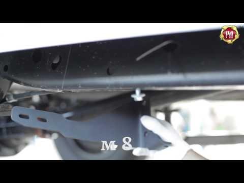 Инструкция по установке порогов металлических на Mitsubishi L200 2014-н.в. (russ-artel.ru)