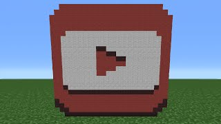 getlinkyoutube.com-Minecraft Tutorial: How To Make The Youtube Studios Logo (Youtube Play Button)