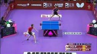 getlinkyoutube.com-【 卓球 】 2016年ベストラリー&スーパープレイ集 - Table Tennis Best Points 2016 -