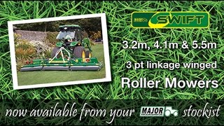 MAJOR Swift Winged Roller Mower (3 pt linkage)