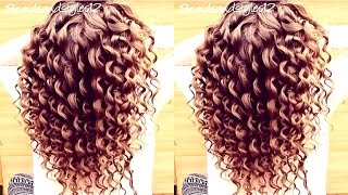 getlinkyoutube.com-HOW TO DO SPIRAL CURLS  /  CURLING WAND HAIR TUTORIAL | Braidsandstyles12