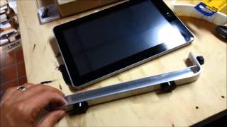 getlinkyoutube.com-Car Tablet Mount (DIY)