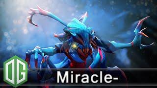 getlinkyoutube.com-OG. Miracle- Weaver Gameplay - Ranked Match - OG Dota 2