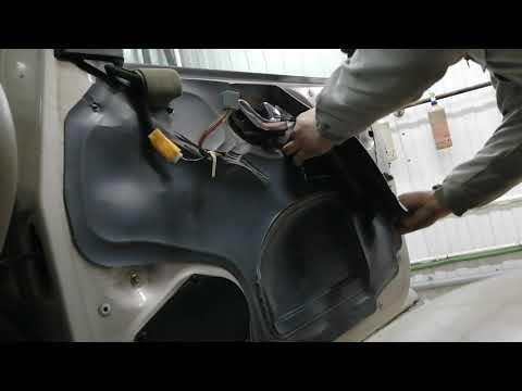 Mazda Tribute Мазда Требьют снятие ручки двери и обшивки салона