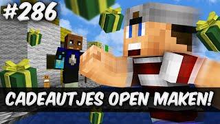 Minecraft Survival #286 - CADEAUTJES OPEN MAKEN!