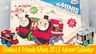 getlinkyoutube.com-Thomas & Friends Minis Advent Calendar 2015 Unboxing and Opening Fun!
