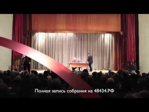 Хамское выступление депутата Александра Бушина в Товарково