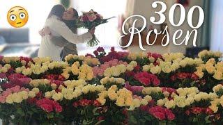 getlinkyoutube.com-Ich überrasche meine Mama mit 300 Rosen 😵🌹 | BibisBeautyPalace