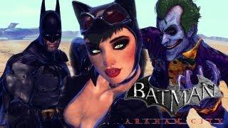 getlinkyoutube.com-Street Fighter X Tekken - Batman x Catwoman VS The Joker x Batman Beyond (Arkham City Mods) [1080p] TRUE-HD QUALITY