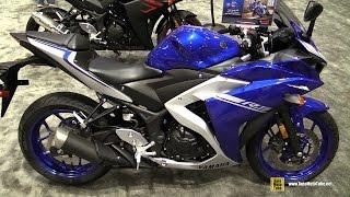 getlinkyoutube.com-2017 Yamaha R3 - Walkaround - 2016 AIMExpo Orlando